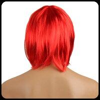 ボブウィッグ(ショートボブウィッグかつら)ショートボブカツラ即納コスプレ女装結婚式の余興ハロウィンの衣装に自然なヘアスタイル長さ約30cm黒(ブラック)茶色(ブラウン)ブルー紫など全15色ウィッグ・つけ毛エクステンション/【あす楽/ゆうP対応】