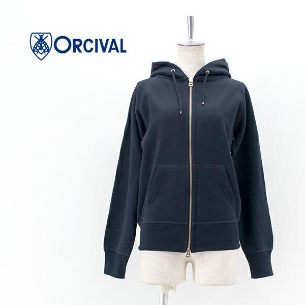 ORCIVAL オーシバル レディース フレンチテリーフルジップパーカー[RC-9007]【BASIC】