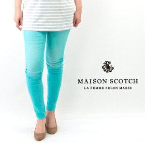 【SALE 60%OFF】MAISON SCOTCH メゾンスコッチ レディース PARISIENNE カラースキニーパンツ[SL85730-41]【SS】【返品交換不可】