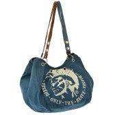 ディーゼル DIESEL MOHI' BAG BFA-MANDY - s ユニセックス バッグ トート DS-X01204PR015-T6083 【ブランド】 トートバッグ バッグ ショルダーバッグ デニム ロゴ 2way