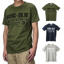 ディーゼル DIESEL T-NUCK MAGLIETTA メンズ トップス Tシャツ - Uネック【ブランド】 ティーシャツ シャツ カットソー カジュアル