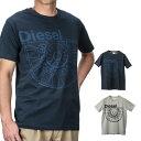 ディーゼル DIESEL T- BALLOCK MAGLIETTA メンズ トップス Tシャツ - Uネック【ブランド】 ティーシャツ シャツ カットソー カジュアル