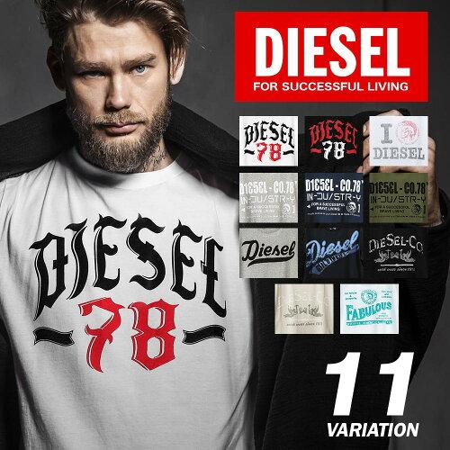 ディーゼル DIESEL メンズ トップス Tシャツ シャツ ティーシャツ 半袖- 【デ...