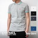ディーゼル DIESEL ポロシャツ メンズ 半袖 トップス ブランド シャツ 無地 ワンポイント クールビズ ビジカジ 白 黒 S M L XL XXL 大きいサイズ ギフト シンプル おしゃれ 1