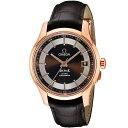 オメガ OMEGA デ・ヴィル メンズ 時計 腕時計 OMS-43163412113001 高級腕時計 ブランド スイス とけい ウォッチ 新品 PURE GOLD WATCH アリゲーター革ベルト 金無垢