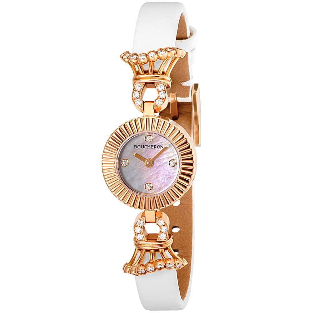 【ポイント5倍15日23:59まで】ブシュロンBOUCHERONマジョリーレディース時計腕時計BUC-WA012504高級腕時計グランサンクブランドフランスとけいウォッチ新品PUREGOLDWATCH金無垢