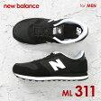 ニューバランス New Balance ML311 メンズ シューズ スニーカー - ML311 M311 311 Lifestyle Fashion NB ブランド ランニング スポーツ 26.5cm 28cm 28.5cm 29cm 29.5cm 30cm 大きい サイズ BIG グレー ブラック