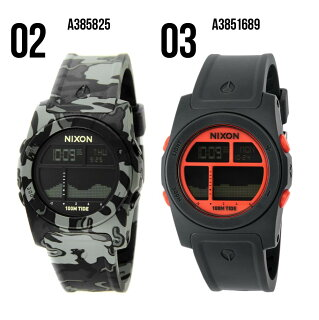 ニクソンNIXONRHYTHMユニセックス時計腕時計-【カジュアルスケーターストリートファッションブランドアメリカ】とけいウォッチ