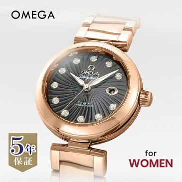 オメガ OMEGA デ・ヴィル レディース 時計 腕時計 オートマチィック クロノグラフ 並行輸入 新品 美品 コーアクシャル自動巻 ブラック 425.60.34.20.51.002
