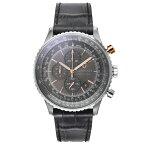 ギオネ GUIONNET Flight Timer Professional メンズ 時計 腕時計 PG-FT44SGY とけい ウォッチ 楽天1位(12月4日現在) プレゼント 送料無料 あす楽 ブルーインパルス コラボ レザーベルト 無反射コーティング