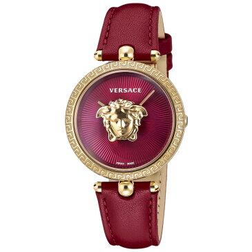ヴェルサーチェ VERSACE PALAZZO EMPIRE レディース 時計 腕時計 クォ−ツ レッド VECQ00418