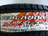 新品スタッドレスタイヤヨコハマジオランダーi/T-S235/65R184本セット新品スタッドレスタイヤ【新品・未使用品】