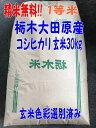 本州限定!!送料無料!!1年産!!栃木県大田原産コシヒカリ1...
