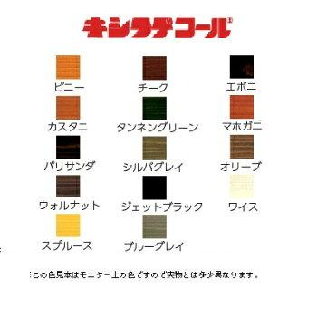 防虫防腐着色塗料キシラデコール16Lキシラデコール16L刷毛1本+注ぎぐちベロ1個付き