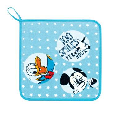 (SALE)Disney(ディズニー)フォーチュンフレンズ スクールタオル 約30×30cm ウチノ タオル【内野タオル】 入園グッズ 入園祝い