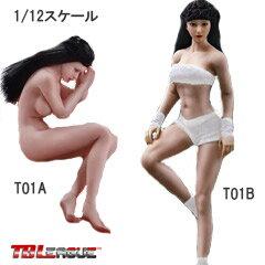 ぬいぐるみ・人形, 着せ替え人形 TBLeague112scale female seamless body with metal skeleton PHMB2018-T01A T01B TB 112