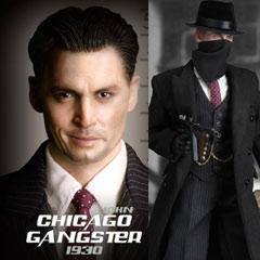 1/6スケールフィギュア シカゴ ギャングスター【DID】Chicago Gangster 1930 John シカゴ ギャ...