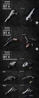 【ZCWorld】ZCWO-1/6thScaleFirearmsCollection2.0SetA1/6スケール武器セット