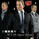 ワイルドトイズ 1/6男性アクションフィギュア【Wildtoys】WT24 1/6 Agent James Suit Set 1/6...