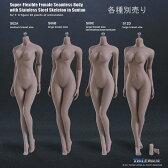【TBLeague】female seamless body SUNTAN series not head S02A S06B S09C S12D TBリーグ 1/6スケール シームレス女性ボディ サンタン(ヘッドなし