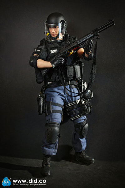 【DID】MA1008 Los Angeles Police Department Special Weapons And Tactics (LAPD SWAT) 3.0 - Takeshi Yamada スワット タケシ ヤマダ