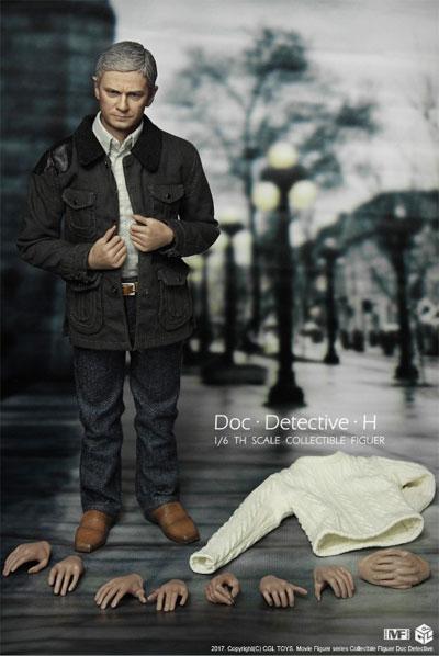 【CGL】MF08 Detective Sherlock Watson Doctor Tigers Little Freedom 1/6スケール 男性フィギュア