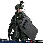 【DAM】No.78053 1/6 CHINESE PEOPLE'S ARMED POLICE FORCE SNOW LEOPARD COMMANDO UNIT TEAM LEADER 中国人民武装警察部隊特警部隊 雪豹突撃隊 中隊長 1/6フィギュア