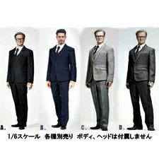 【POPtoys】X26 A B C D Men's Suit 1/6スケール 男性用スーツ