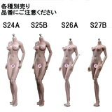 【TBLeague】Female Seamless Bodies S24A S25B S26A S27B TBリーグ 1/6スケール シームレス女性ボディ(ヘッドなし)
