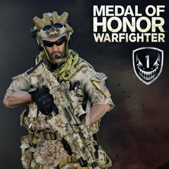 【Soldier Story】SS106 1/6 Medal Of Honor Navy SEAL Tier One Operator Voodoo メダル・オブ・オナー アメリカ軍特殊作戦部隊 AFO ネプチューン ブードゥー1/6スケールミリタリーフィギュア