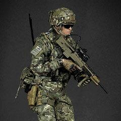 【GreenWolfGear】GWG-009 BRITISH ARMY (OP TORAL) AFGHANISTAN KABUL SECURITY FORCE (KSF) イギリス陸軍 1/6スケールフィギュア