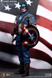 クリス・エヴァンス演じるキャプテンアメリカ 1/6フィギュア【ホットトイズ】MM#156『キャプテ...