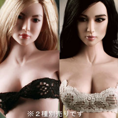 PLMB2013-15 PLLB2013-16 Female seamless body in pale Ver.04 1/6スケール シームレス...