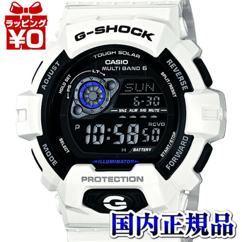 GW-8900A-7JF CASIO カシオ G-SHOCK 白 ジーショック gshock Gショック 電波 ソーラー g-ショッ...