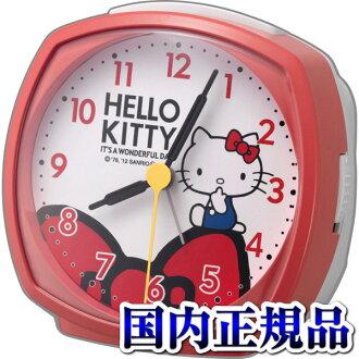 4RA478-M01 Hello Kitty R478 clock CITIZEN citizen Bell sound alarm step second hand