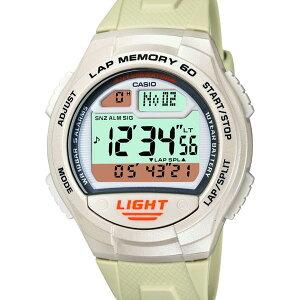 W-734J-7AJF【CASIO】カシオSPORTSGEAR国内正規品送料無料10気圧防水10年電池ラップタイム60本ウォッチ腕時計WATCH販売種類