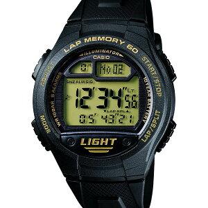 W-734J-9AJF【CASIO】カシオSPORTSGEAR国内正規品送料無料10気圧防水10年電池ラップタイム60本ウォッチ腕時計WATCH販売種類