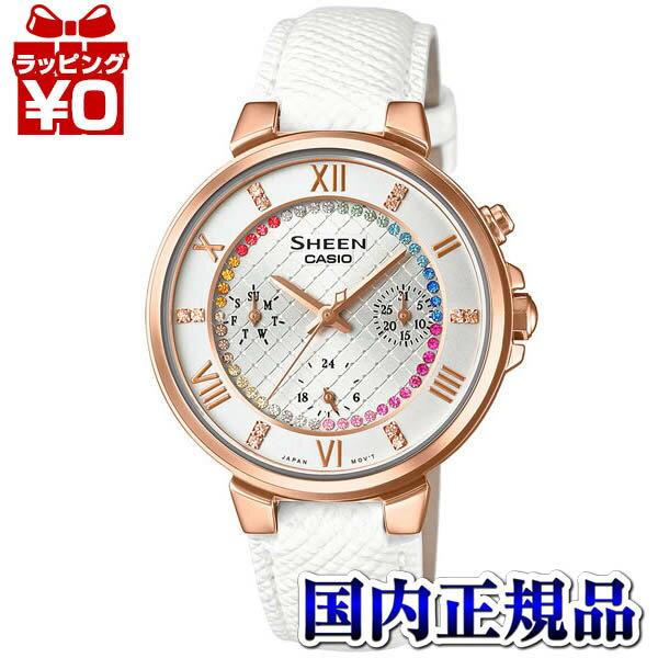 腕時計, レディース腕時計 SHE-3041GLJ-7AJF CASIO SHEEN LED