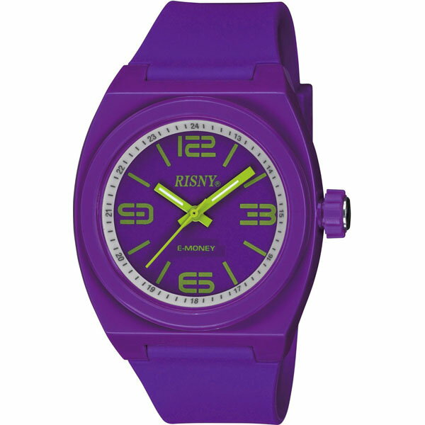 RS-001M-09 RISNY リスニー メンズ 腕時計 電子マネー機能付き腕時計 電子マネー 楽天Edy エディ お財布 電子決済 モバイルエディ プレゼント