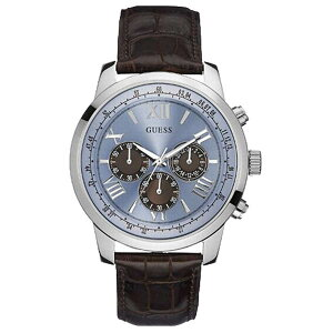 W0380G6GUESSゲス腕時計HORIZONホライズンメンズ青文字盤ブルー青