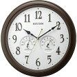 8MGA37SR06 CITIZEN CLOCK RHYYHM シチズンクロック リズム オルロージュインフォートM37 掛時計国内正規品