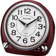 8RA641SR01 CITIZEN CLOCK RHYYHM シチズンクロック リズム デュアルサウンドR641 めざまし時計国内正規品