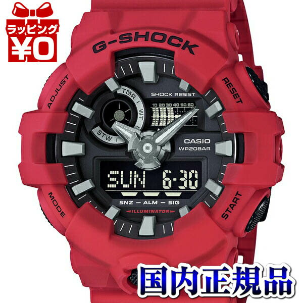 CASIO G-SHOCK Red watch 1000OFFGA-700-4AJF CASIO...