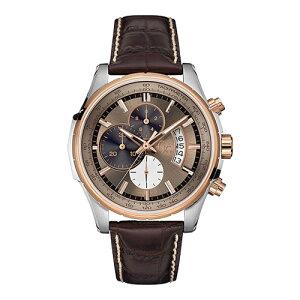 X81012G5SGCジーシーゲスコレクションTechnoClass革バンドアナログクロコ型押しレザークロノグラフカレンダーローズゴールドメンズ腕時計国内正規品送料無料