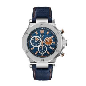 X72029G7SGCジーシーゲスコレクションGC-3ブラウン革バンドアナログクロコ型押しカレンダーメンズ腕時計国内正規品送料無料