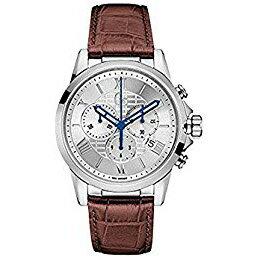 Y08005G1GCジーシーゲスコレクションEsqire革バンドアナログクロノグラフカレンダーメンズ腕時計国内正規品送料無料