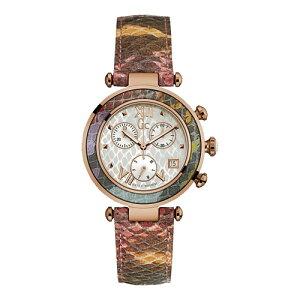 Y05013M1GCジーシーゲスコレクションFloralDreamパイソン柄型押しレザーアナログレディース腕時計国内正規品送料無料