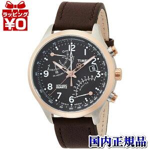TW2P73400TIMEXタイメックス国内正規品IQフライバックブラウンメンズ腕時計