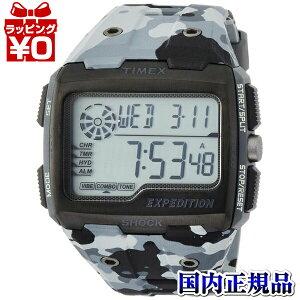 TW4B03000TIMEXタイメックス国内正規品EXPグリッドショックグレーカモメンズ腕時計