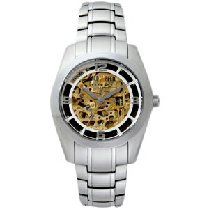 G51007SBGOLDPFEILゴールドファイルウォッチG51007Seriesゴールドスケルトンメンズ腕時計